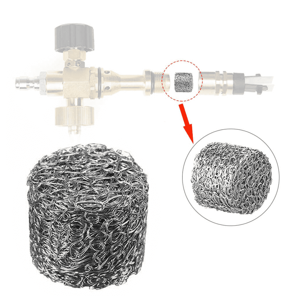 jet kopuk filtresi 7 - Yıkama Makinesi Jet Köpük Tabancası Filtresi
